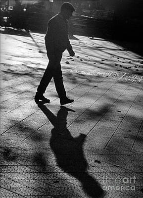 Photograph - Shadow Walker-signed-#003 by J L Woody Wooden