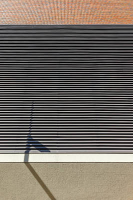 Photograph - Shadowed Grill by Rodger Werner