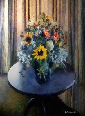 Painting - Shadowed In Silk by RC DeWinter