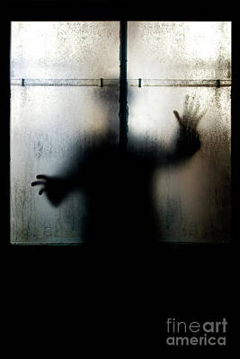 Photograph - Shadowman by Clayton Bastiani