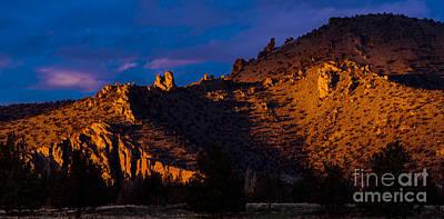 Sunset Photograph - Shadows by Adam Reisman