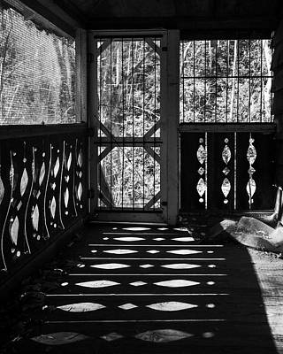 Photograph - Shadows And Bars by Alan Raasch