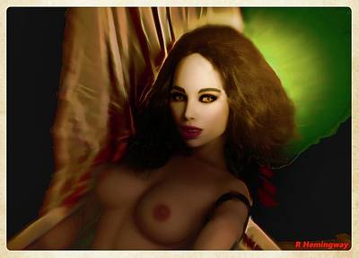 Breasts Photograph - Shadows And Light by Richard Hemingway