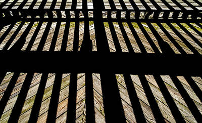 Photograph - Shadows And Lines - Semi Abstract by Brian Wallace