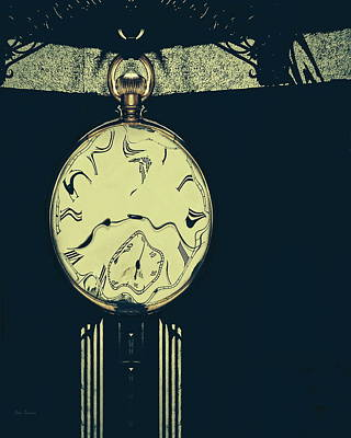 Fantasy Photograph - Shadows And Time by Bob Orsillo