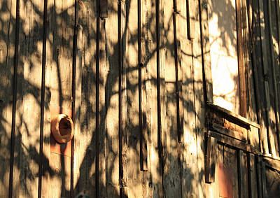 Lodes Photograph - Shadows And Wall by Troy Montemayor