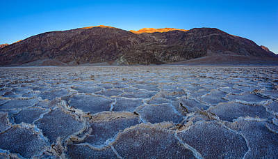 Photograph - Shadows Fall Over Badwater by Mark Robert Rogers