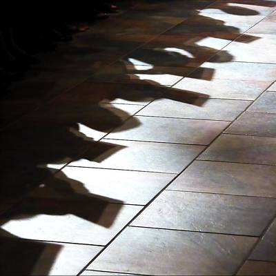 Photograph - Shadows From The Pew 4562 by Jerry Sodorff