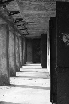 Western Art - Shadows in the bunkers by Emma Jones