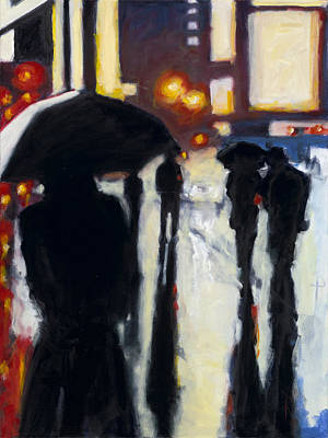 Painting - Shadows In The Rain by Robert Reeves