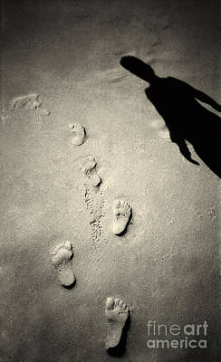 Photograph - Shadows In The Sand by Linda Matlow