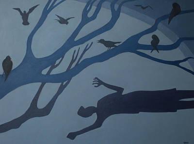 Shadows Move Among Us Art Print