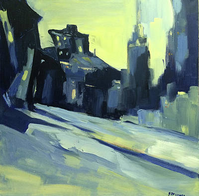 Painting - Shadows by NatikArt Creations