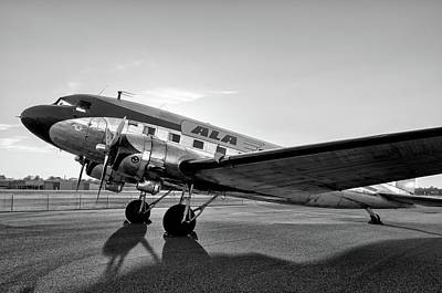 Photograph - Shadows Of A Dc-3   by Chris Buff