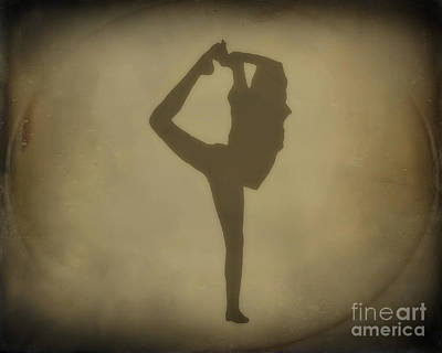 Shadows Of Dance Art Print