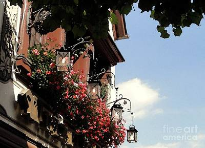Photograph - Shadows Of Rudesheim by Barbie Corbett-Newmin