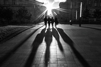 Mccartney Photograph - Shadows Of The Beatles by Paul Madden