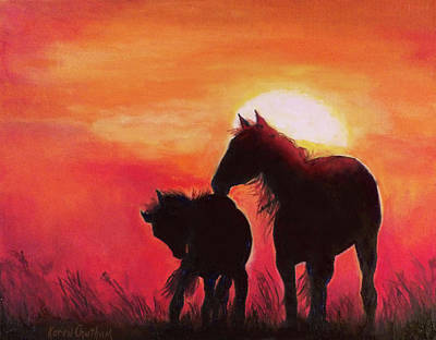 Painting - Shadows Of The Sun by Karen Kennedy Chatham