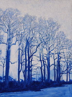Painting - Shadows Of Winter by Andrew Danielsen