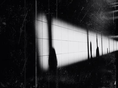Photograph - Shadows On A Wall by Siegfried Ferlin