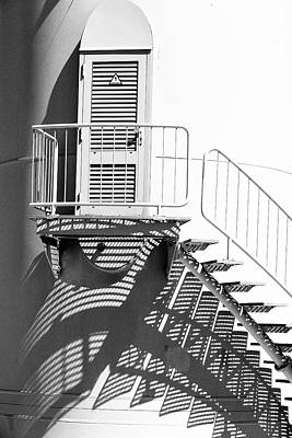 Photograph - Shadows On A Windmill by Edgar Laureano