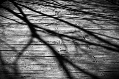 Photograph - Shadows On The Bridge by Colleen Kammerer