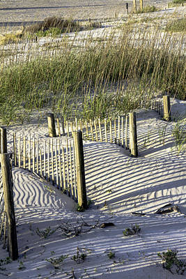 Photograph - Shadows On The Dune by Elizabeth Eldridge