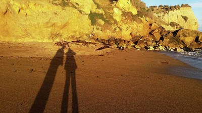 Photograph - Shadows On The Golden Sand by Nareeta Martin