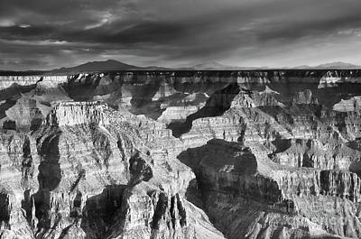 Photograph - Shadows On The Grand Canyon by Tamara Becker