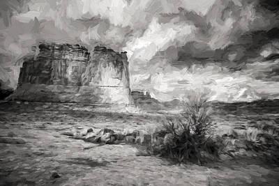 Shadows On The Plain II Art Print by Jon Glaser