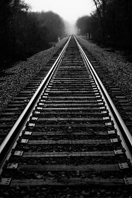 Photograph - Shadows On The Railway by Shelby Young