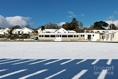Photograph - Shadows On The Snow by Terri Waters