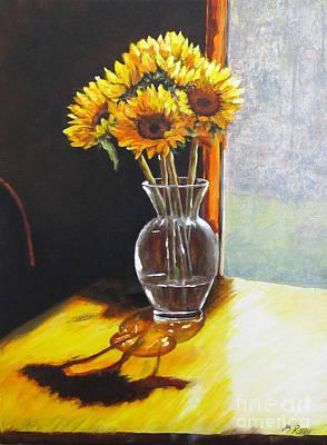 Shadows Art Print by Pam Raney