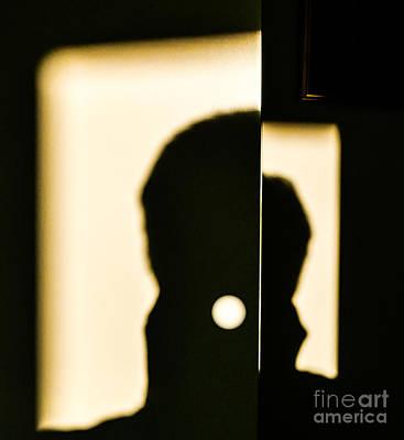 Door Shadows Art Print