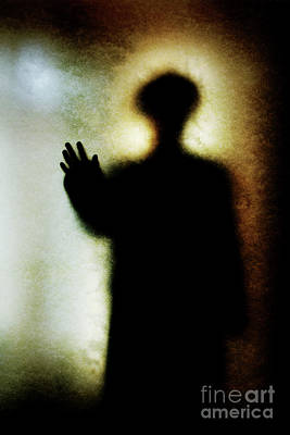 Photograph - Shadowy Man With Hand Outstretched by Clayton Bastiani