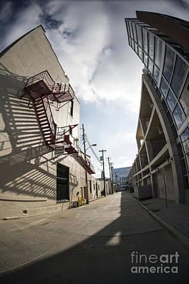 Photograph - Shadowy Street by David Bearden