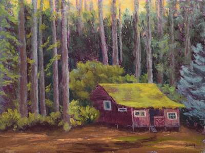 Painting - Shady Grove by Nancy Jolley