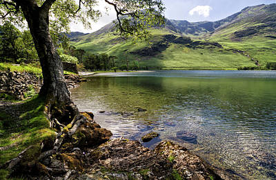 Photograph - Shady Rest At Buttermere by Shirley Mitchell