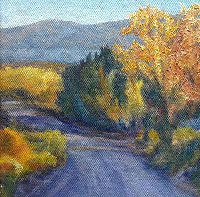 Painting - Shady Road by Candi Hogan