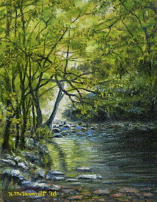 Painting - Shady Stream by Kathleen McDermott