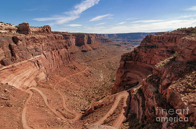Photograph - Shafer Canyon Road by Sharon Seaward