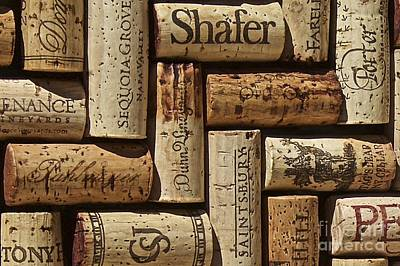 Wine Bottle Photograph - Shafer Hillside Select by Anthony Jones
