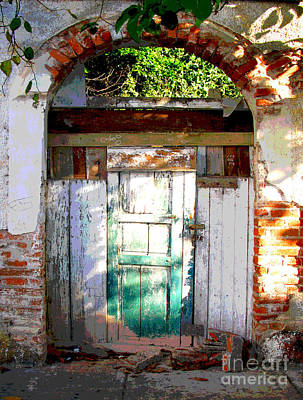 Portal Photograph - Shaft Of Sunlight By Darian Day by Mexicolors Art Photography