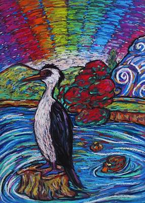 Pastel - Shag On A Rock by Dianne  Connolly