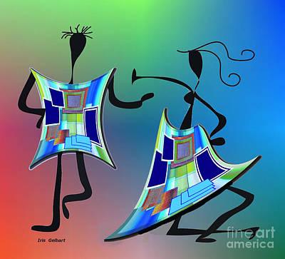 Digital Art - Shake by Iris Gelbart