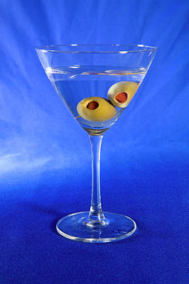Martini Royalty-Free and Rights-Managed Images - Shaken Not Stirred 5 by Buddy Mays