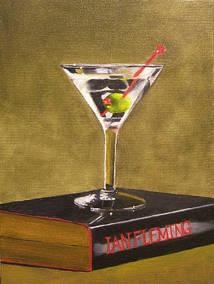 Painting - Shaken Not Stirred by Kathy Lumsden