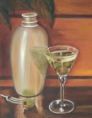 Painting - Shaken Not Stirred by Susan Dehlinger