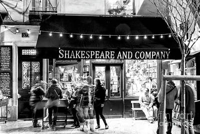 Photograph - Shakespeare And Company Paris by John Rizzuto