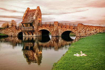 Shakespeare Bridge Art Print